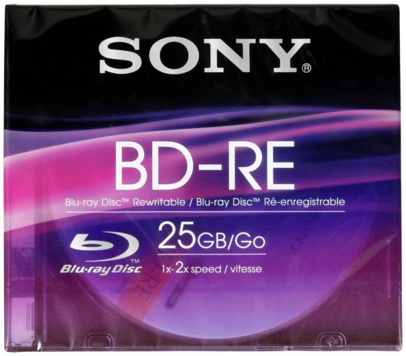 Sony Blu-ray Disc Re-writable 25gb
