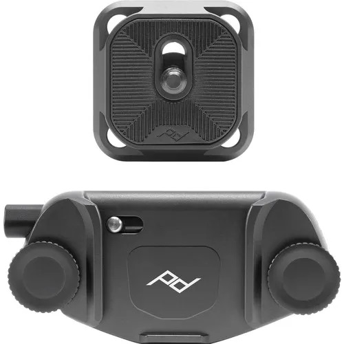 PEAK DESIGN CAPTURE CAMERA CLIP (V3) BLACK W/PLATE
