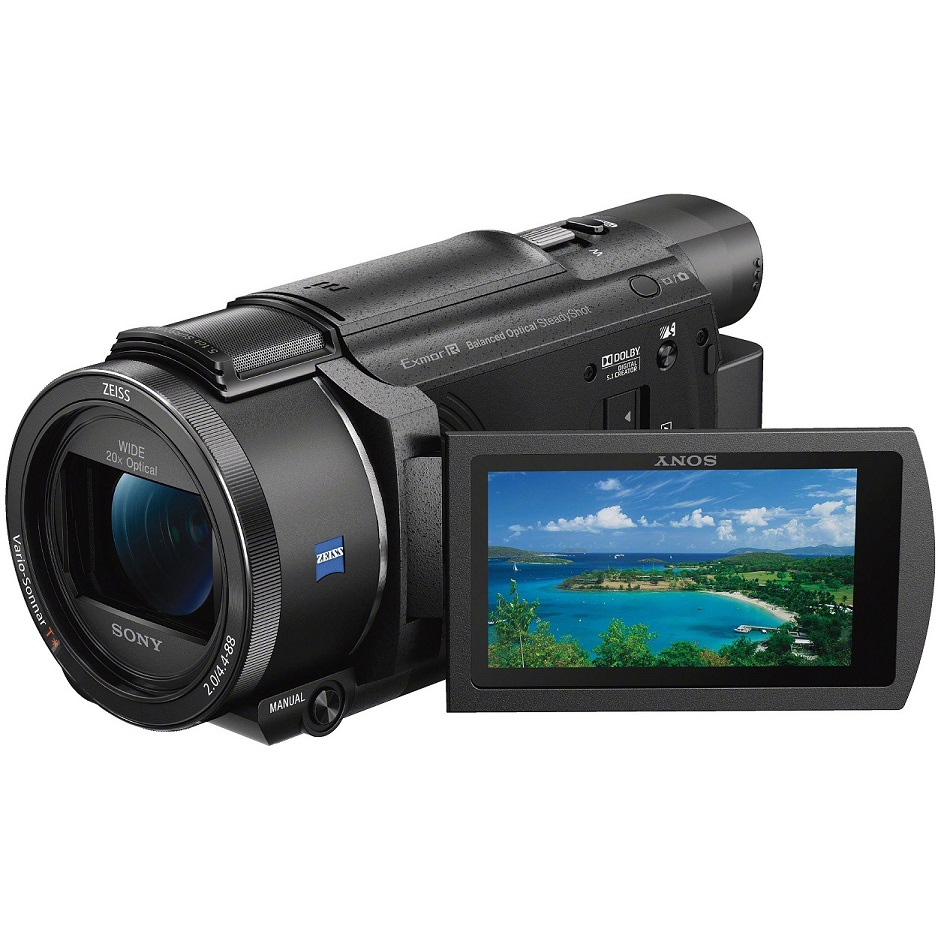 Sony FDR-AX53 4K Handycam with BOSS