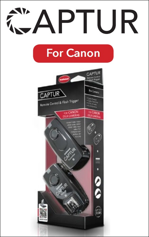 Hahnel CAPTUR REMOTE & FLASH TRIGGER CANON