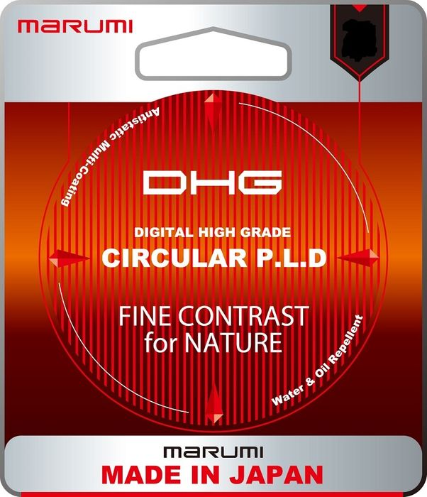 MARUMI DHG CIRCULAR POLARISING FILTER 58MM