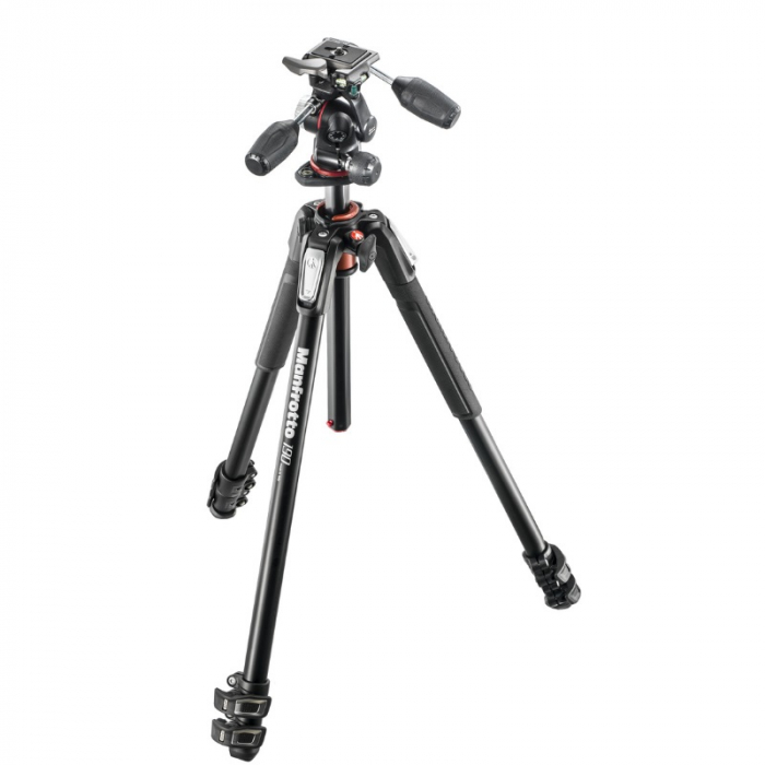 MANFROTTO 190 ALU 3 SECTION WITH XPRO 3 WAY HEAD
