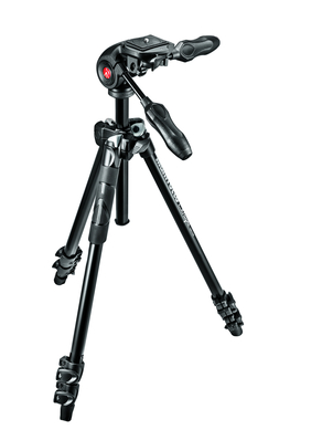 MANFROTTO 290 LIGHT KIT ALU WITH 3 WAY HEAD
