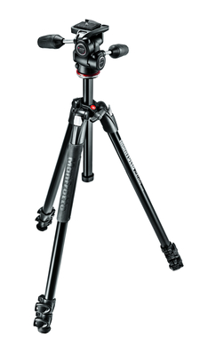 MANFROTTO 290 XTRA KIT WITH 3 WAY HEAD