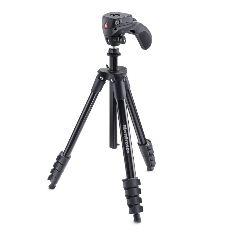 MANFROTTO COMPACT ACTION TRIPOD BLACK