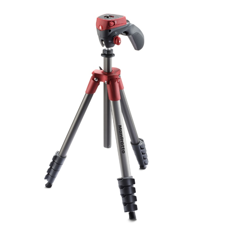 MANFROTTO COMPACT ACTION TRIPOD RED