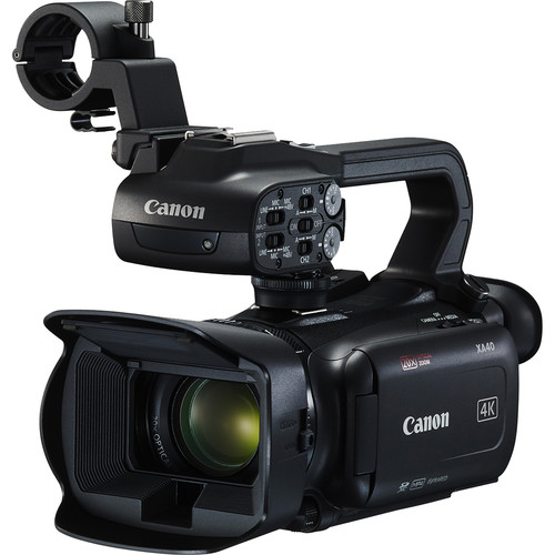Canon XA40 Compact 4K Digital Video Camera