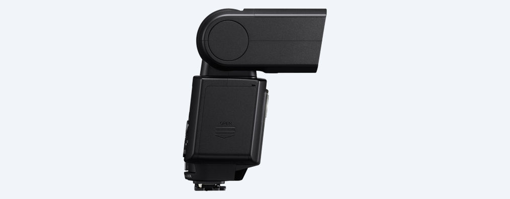 Sony HVL-F45RM Flash with Wireless Radio Control - Click Image to Close