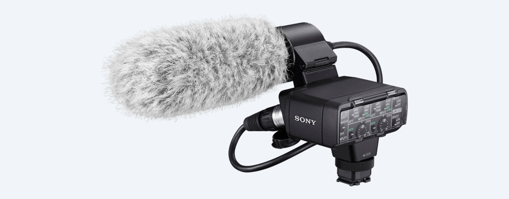 Sony XLR-K2M Adapter and Microphone Kit