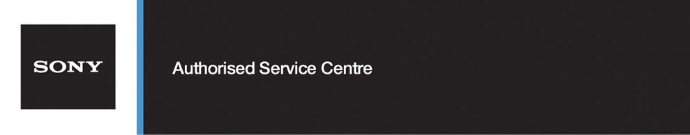 Sony Authorised Service Agent